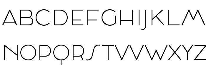 Cocosignum Maiuscoletto UltraLight Schriftart Kleinbuchstaben