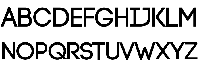 Code-Bold Font UPPERCASE