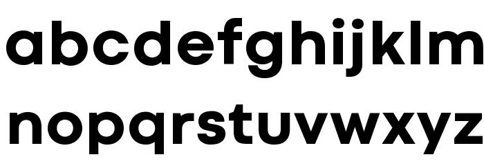 Codec Cold Trial ExtraBold Schriftart Kleinbuchstaben