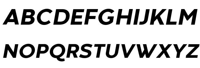 Codec Warm Trial ExtraBold Italic Schriftart Groß