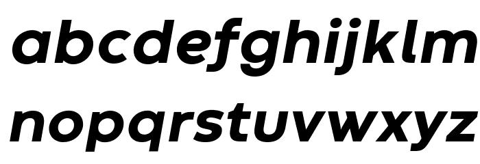 Codec Warm Trial ExtraBold Italic Schriftart Kleinbuchstaben
