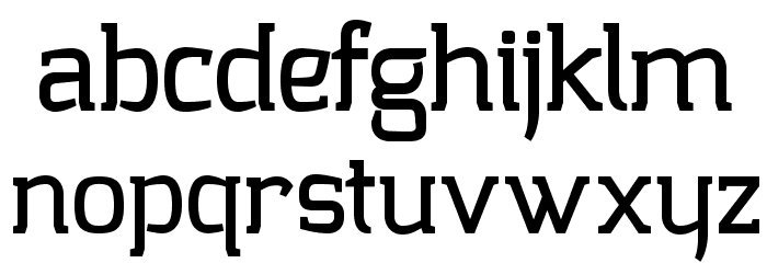 Collazio Personal Use Heavy Font LOWERCASE