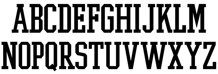 College Boy Font LOWERCASE