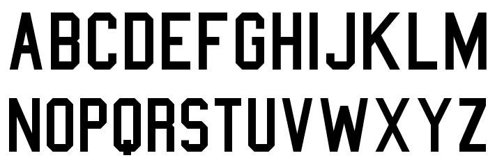 College Semi condensed Font LOWERCASE
