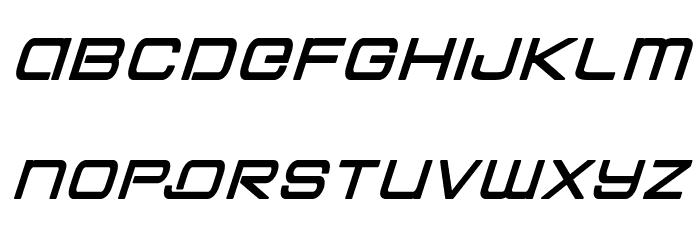 Colony Marines Bold Italic Schriftart Kleinbuchstaben