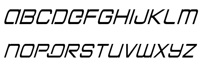 Colony Marines Condensed Italic Font LOWERCASE