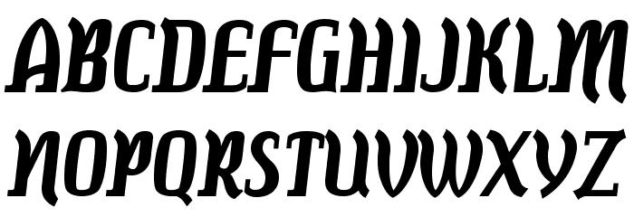 Colourbars-Bold Font Litere mari