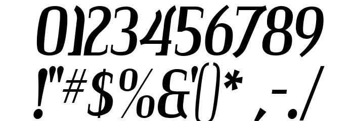 Colourbars Шрифта ДРУГИЕ символов