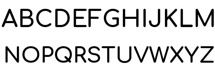 Comfortaa Bold Font UPPERCASE