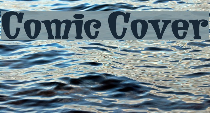 Comic Cover Font examples