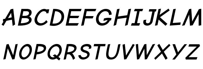 Comic Neue Angular Bold Oblique Fuentes MAYÚSCULAS