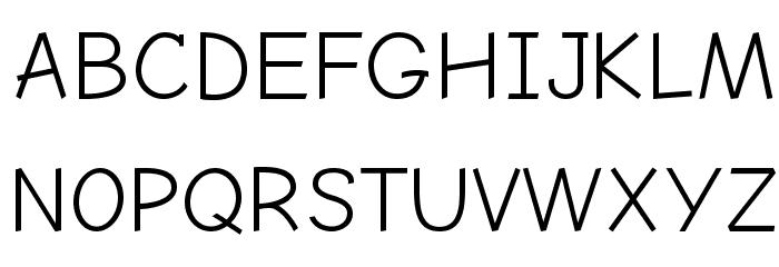 Comic Neue Angular フォント 大文字