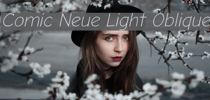 Comic Neue Light Oblique フォント examples