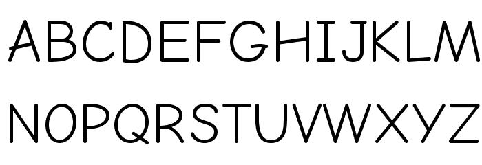 Comic Neue フォント 大文字