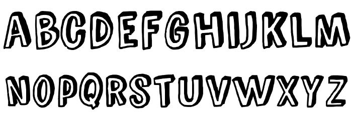 ComicZineOT Font LOWERCASE