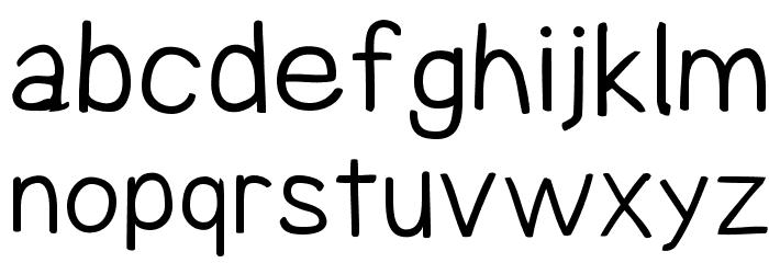 Comica Regular Font LOWERCASE