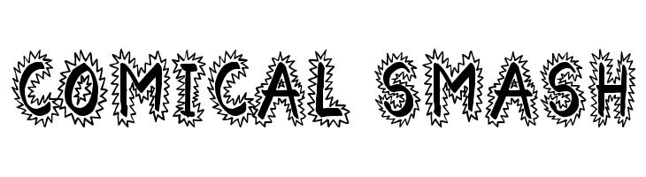 Comical Smash  Free Fonts Download