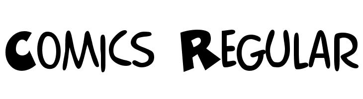Comics Regular Font