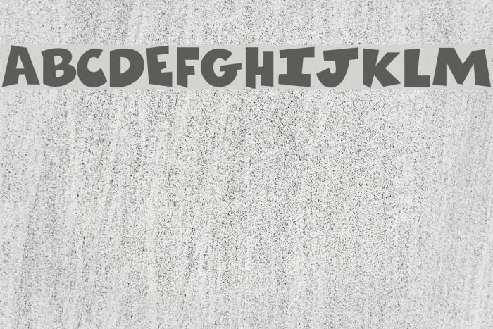 Comics Regular Font examples