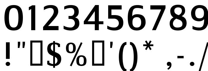 Communist Sans Font OTHER CHARS