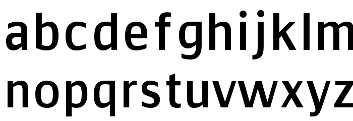 Communist Sans Font LOWERCASE