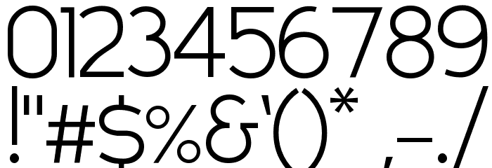 Compass LT Font OTHER CHARS