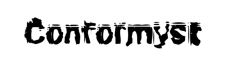 Conformyst  नि: शुल्क फ़ॉन्ट्स डाउनलोड