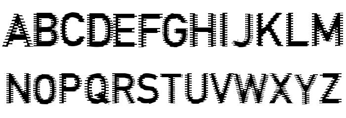 Connection Regular Font UPPERCASE
