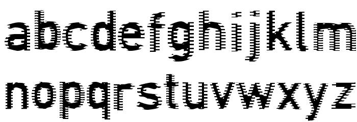 Connection Regular Font LOWERCASE