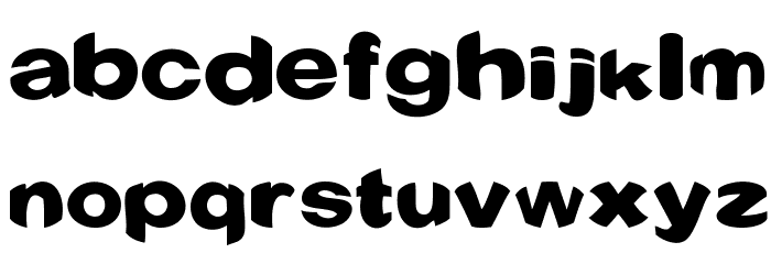 Conquest Font LOWERCASE