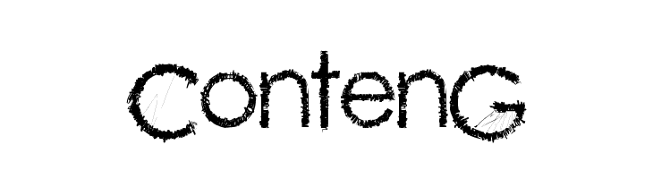ContenG  Free Fonts Download