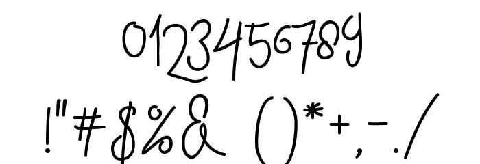 ContentoScript Шрифта ДРУГИЕ символов