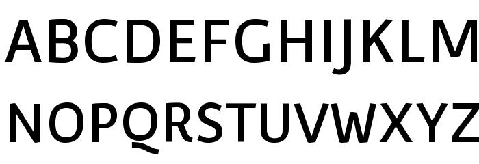 Convergence-Regular Font UPPERCASE