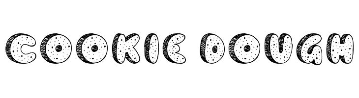 Cookie Dough  Скачать бесплатные шрифты