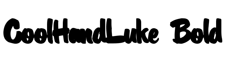 CoolHandLuke Bold  Free Fonts Download