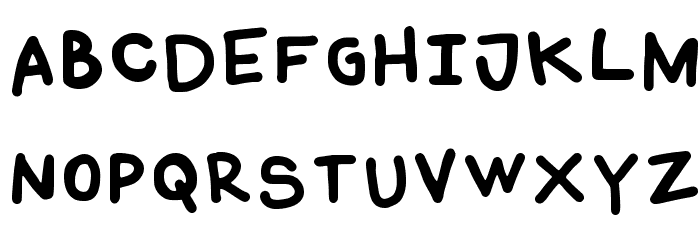 Coquerli Regular Font UPPERCASE