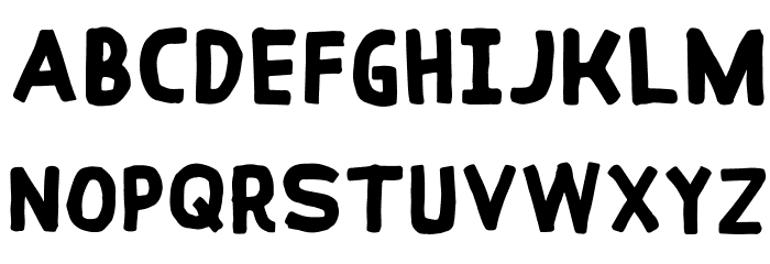 Coral Reef Font LOWERCASE