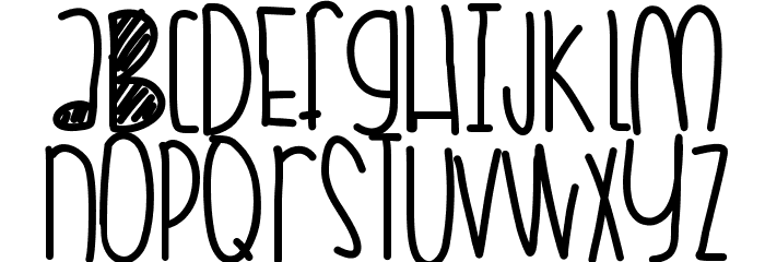 CoralSkittles Font UPPERCASE