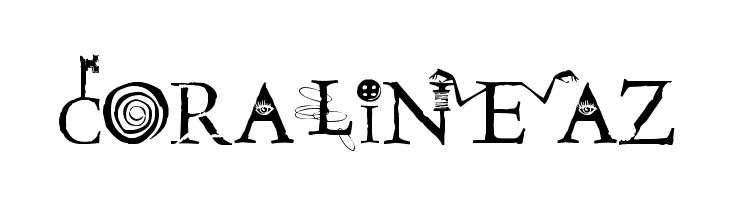 Coraline Font Search