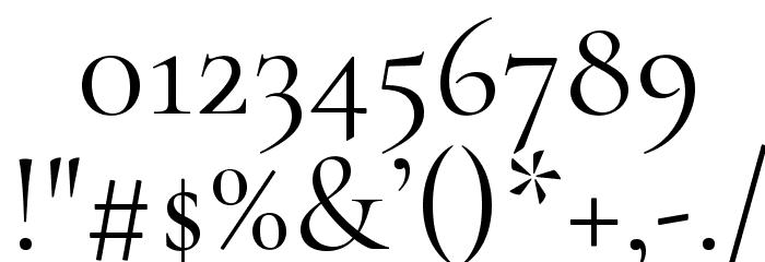 Cormorant Infant Font OTHER CHARS