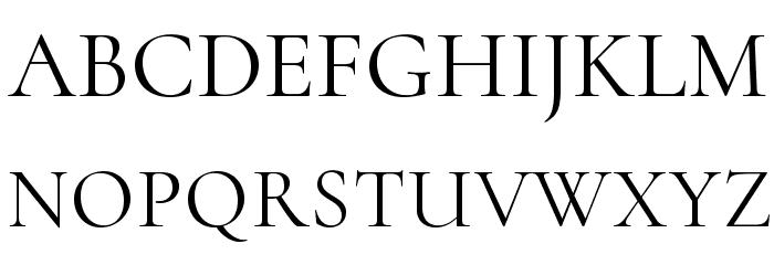 Cormorant Infant Font UPPERCASE
