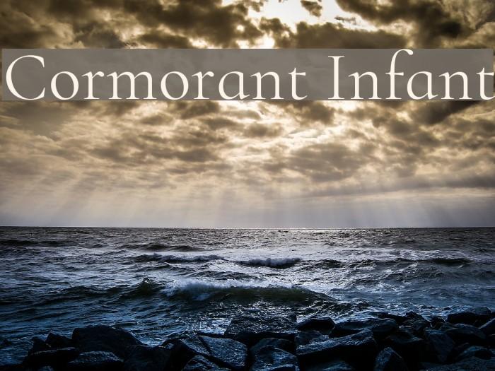 Cormorant Infant Font examples