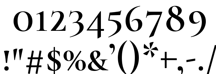 Cormorant SC Semi Font OTHER CHARS