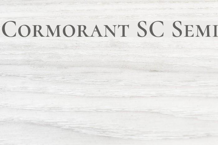 Cormorant SC Semi Font examples