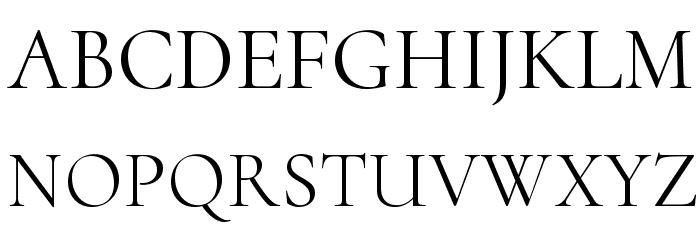 Cormorant Upright Font UPPERCASE