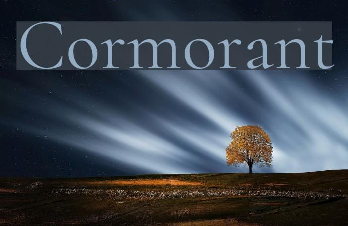 Cormorant Font examples