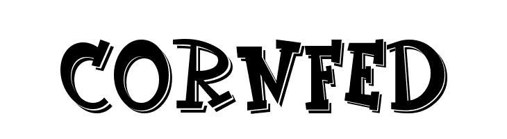 CornFed  नि: शुल्क फ़ॉन्ट्स डाउनलोड