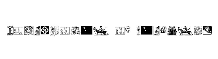 Cornucopia of Dingbats  Free Fonts Download