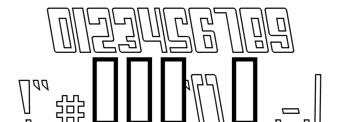 Cosmic Age Outline Italic Fonte OUTROS PERSONAGENS