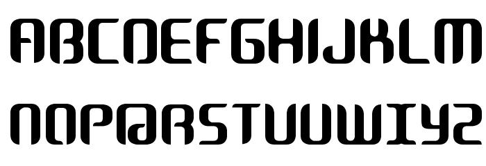 Cosmic Font UPPERCASE